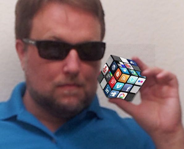 Social media as Rubik Cube Puzzle