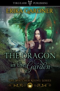 Book Cover: The Dragon in the Garden by Erika Gardner